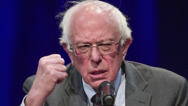 Democratic presidential contender Bernie Sanders has a colossal online support base.