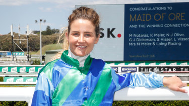 Melbourne Cup-winning jockey Michelle Payne was the subject of the biopic Ride Like A Girl.