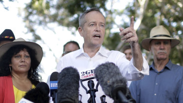 Bill Shorten campaigning in Darwin.