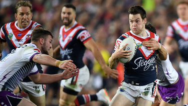 Man of the moment: Luke Keary put in a sublime, almost mistake-free performance.
