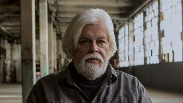 Paul Watson, founder of Sea Shepherd and the subject of the feature-length documentary Watson.