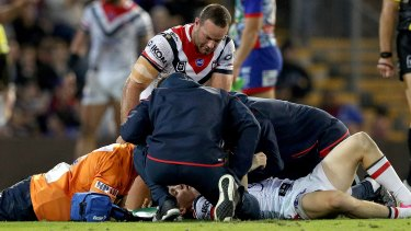 Caution: Roosters star Luke Keary has been rested for the past month since being concussed against the Knights.