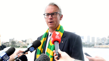 David Gallop won't be at FFA to see through the country's 2023 World Cup hosting bid.