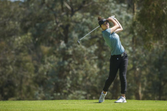 Gabi Ruffels has declined an invitation to the women's event at Augusta.