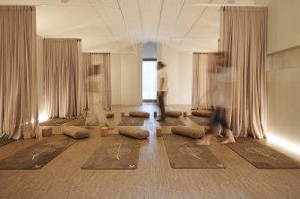 The Mirosuna meditation studio in South Melbourne.