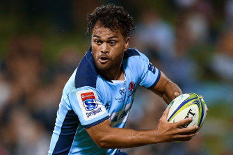 Karmichael Hunt is one of four Waratahs set to miss the first Super Rugby Au match through injury.