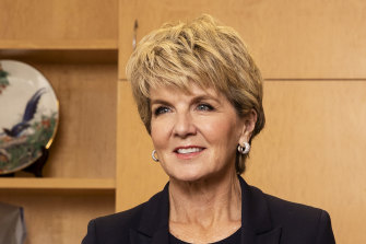 Former foreign affairs minister Julie Bishop says consumers now need to combat modern slavery.
