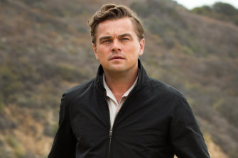 Globe frontrunner: Leonardo diCaprio plays Rick Dalton, a big-time actor who fears he is a has-been, in Once Upon a Time ... in Hollywood.