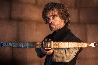 Hello father: Tyrion Lannister (Peter Dinklage) has some parting words for Tywin.