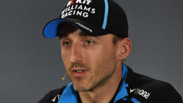 Polish driver Robert Kubica, who is back in F1 after a life-threatening crash.