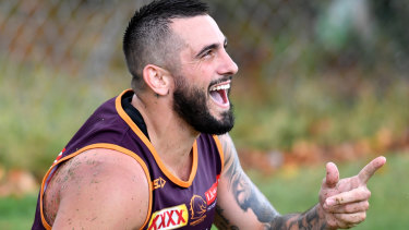 Upbeat: Bird is a different player and riding high on confidence again.