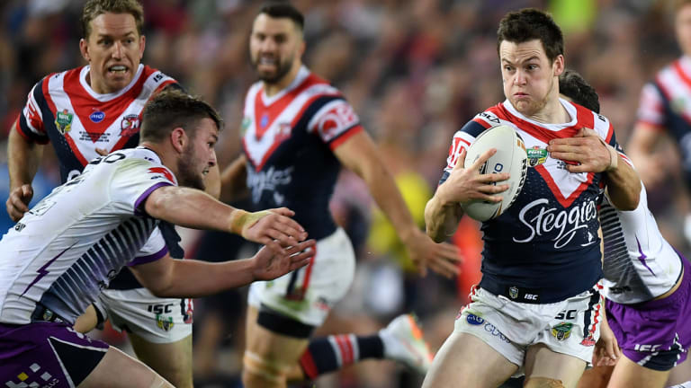 Man of the moment: Luke Keary puts in a sublime, near mistake-free performance.