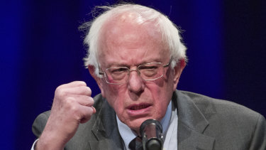 Democratic presidential contender Bernie Sanders on Monday released tax returns covering the past 10 years.