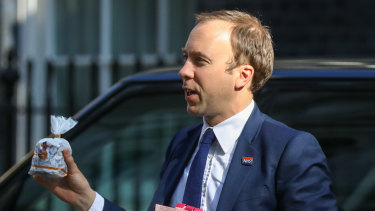 Health Secretary Matt Hancock has thrown his hat into the leadership ring.