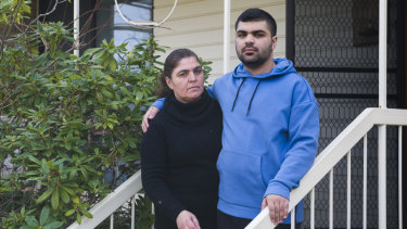 Safaa Ferkh's son Abdul wasn't allowed to go back to school for four months after a suspension.