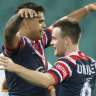 Mitchell rubbishes Rabbitohs rumours after Roosters trounce Tigers