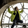 Look no hands as Sydney's GPO clock gets a makeover