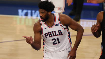 Embiid, Simmons extend dominance of Knicks as Sixers roll