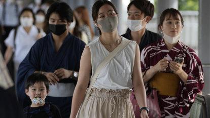 Japan tops 10,000 coronavirus cases per day