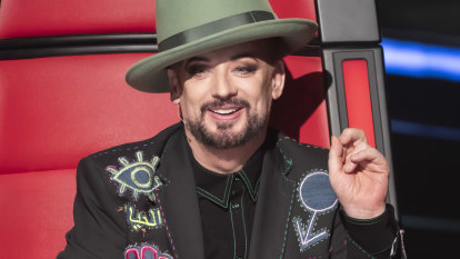 The Voice turns to technology to keep Boy George and Kelly Rowland on board