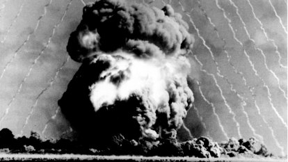 From the Archives, 1957: Minister denies Aboriginal people cleared from SA atomic test site