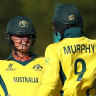 Australia's U19s through to World Cup quarters with thrilling last-ball win