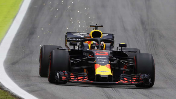 Ricciardo handed five place penalty after marshalls 'solidify turbo'