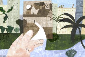 Illustration by Liz Rowland.