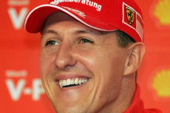 Michael Schumacher won the last of his seven world titles for Ferrari in 2004.