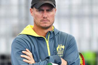 Australia's Davis Cup captain Lleyton Hewitt.