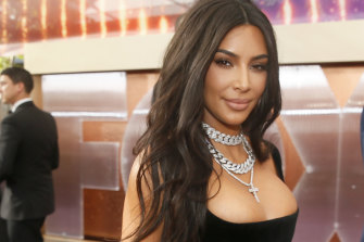 Kim Kardashian West made $A285 million from the sale of a 20 per cent stake in her make-up brand.