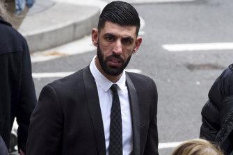 Jamal Eljaidi outside court on Tuesday.