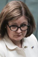 Liberal MP Sarah Henderson.