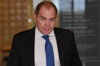 Former NSW ALP general secretary Jamie Clements.