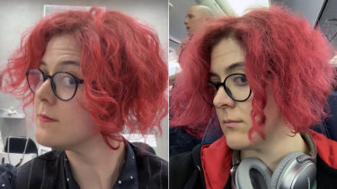 The ringlet at the Dyson event, then 31 hours later landing in LA.