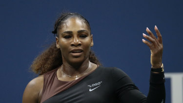 Williams is chasing a 24th grand slam title.