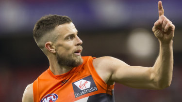 Brett Deledio is one of four Giants coming back from injury for the elimination final against Sydney.