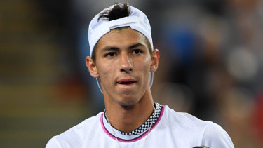Alexei Popyrin will face Frenchman Ugo Humbert in the French Open first round on Sunday.