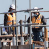 Women lost in taxpayer-funded sea of high-vis vests and hard hats