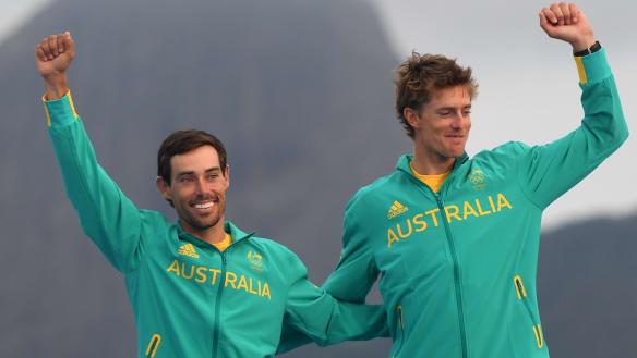 Australian crews remain contenders at World Sailing Championships