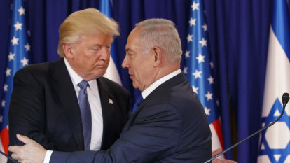 Trump endorses Israeli control of the Golan Heights