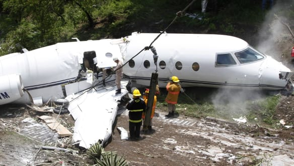 Private jet from Texas crashes in Honduras, all passengers survive