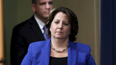 Extortionists will never see this money: Deputy Attorney General Lisa Monaco.