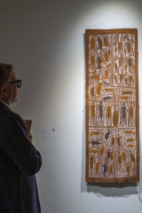 33 works by indigenous artists will be auctioned by Sotheby's.