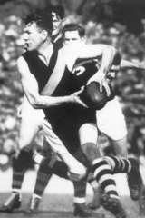 Jack Dyer in his playing days