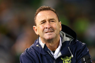 Ricky Stuart had a small win before the grand final rematch with the Roosters.