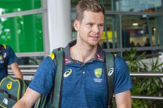 Former Australian captain Steve Smith.