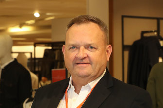 Myer CEO John King