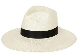"""Sarah J Curtis """"Timeless Classic"""" panama hat."""