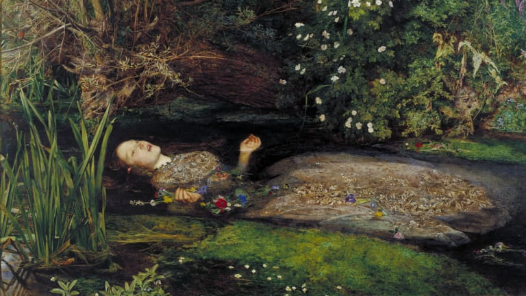 Ophelia by John Everett Millais.